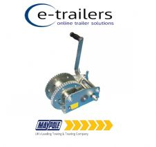 BOAT TRAILER WINCH 1454Kg Maypole MP1432 Professional STRONG 2-Speed braked  (3200Lb)